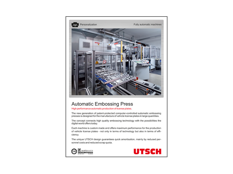 Automatic Embossing Press (AEP)