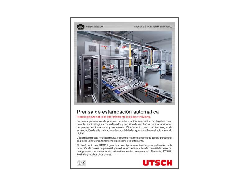 Prensa de estampación automática(APP)