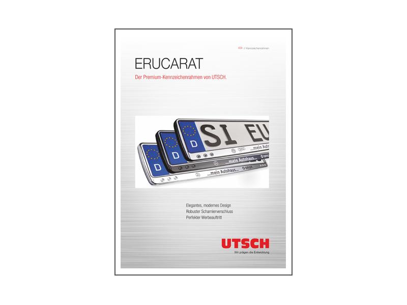 ERUCARAT - Der Premium-Kennzeichenrahmen von UTSCH.