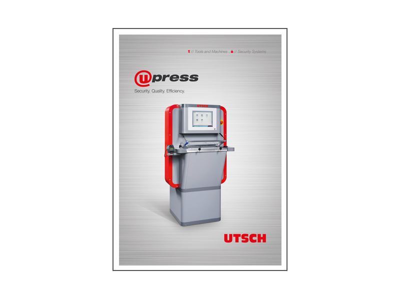 Networkable Embossing press upres