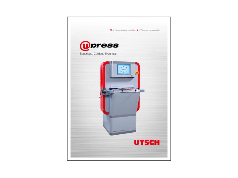 UTSCH_ Máquina dirigida por ordenador U-press