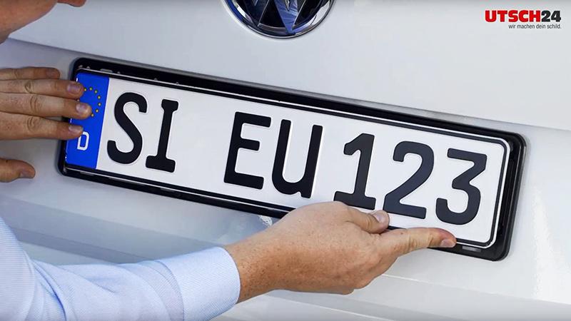 """Kennzeichenhalter ERUSTAR """"Mecklenburg-Vorpommern"""""""